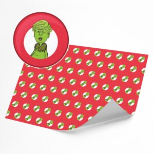 Funny B*tch Who Stole Christmas –  Novelty Wrapping Paper Sheet