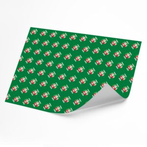 Funny Merry 2020 –  Novelty Wrapping Paper Sheet