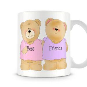 Bestfriend Bear Ideal Gift – Printed Mug