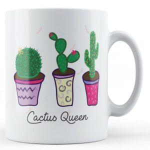 Cactus Queen – Printed Mug