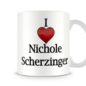 Christmas Stocking Filler I Love Nicole Scherzinger Ideal Gift! – Printed Mug