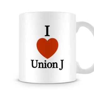 Decorative I Love Union J – X Factor Ideal Gift – Printed Mug