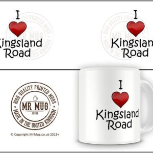 I Love Kingsland Road Ideal Gift – Printed Mug
