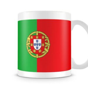 The Flag Of Portugal Both Sides Or Wrapped Around – Printed Mug