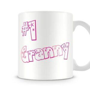 #1 Granny Mum14 Mothers Day – Printed Mug