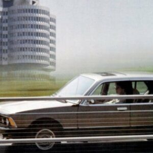 1979 BMW 7 Series CARS2285 Art Print Poster A4 A3 A2 A1