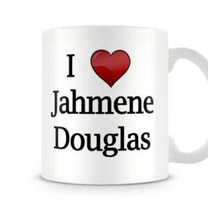 Christmas Stocking Filler I Love Jahmene Douglas Xfactor Ideal Gift! – Printed Mug
