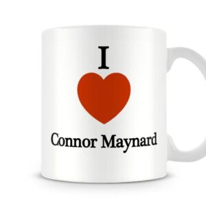 Decorative I Love Connor Maynard Ideal Gift – Printed Mug