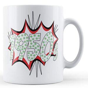 1950's Pop Art Mug – Printed Mug