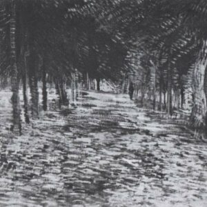 Avenue Voyerd Argenson Park Vincent Van Gogh VG371 Art Print A4 A3 A2 A1