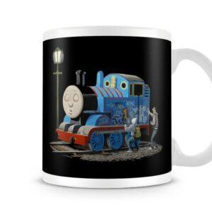 Banksy – Thomas Tank Engine – Printed Mug
