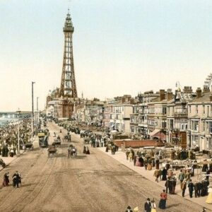 Blackpool 6 Seaside Scenes Print Poster A4 A3 A2 A1