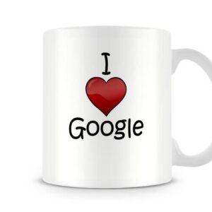 I Love Google Ideal Gift – Printed Mug