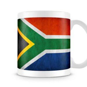 Flag Of South Africa Both Sides Or Wrap Around – Printed Mug