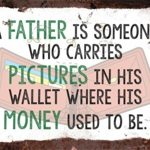 A Father – Vintage Metal Wall Sign