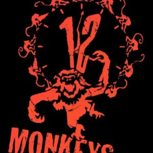 12 Monkeys Mystery Sci-Fi Movie Reproduction Art Print A4 A3 A2 A1