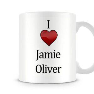 Christmas Stocking Filler I Love Jamie Oliver Ideal Gift! – Printed Mug