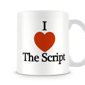 Decorative I Love The Script Ideal Gift – Printed Mug