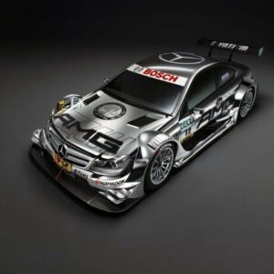 2012 DTM AMG Mercedes-Benz C-Coupe CARS6206 Art Print Poster A4 A3 A2 A1