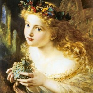 A2 Take The Fair Face Of Woman Sophie Anderson 1869 Picture print on Canvas