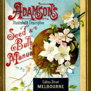 Adamson Vintage Seed Cover Picture Art Print Poster A4 A3 A2 A1