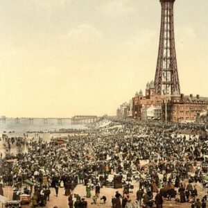 Blackpool 8 Seaside Scenes Print Poster A4 A3 A2 A1