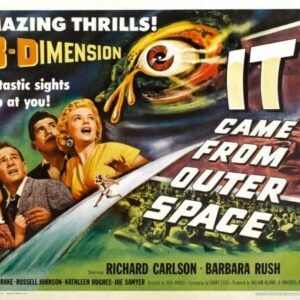 IT CAME OUTER SPACE CLASSIC B-MOVIE REPRODUCTION ART PRINT A4 A3 A2 A1