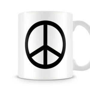 Peace And Love Symbol Ideal Gift – Printed Mug