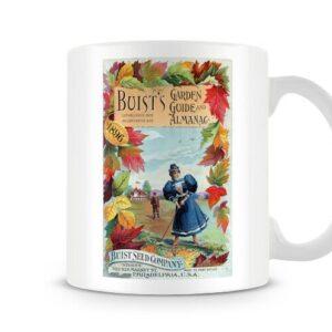 Buist Garden 1896 Vintage Label – Printed Mug