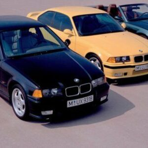 1995 BMW M3 Sedan CARS0764 Art Print Poster A4 A3 A2 A1