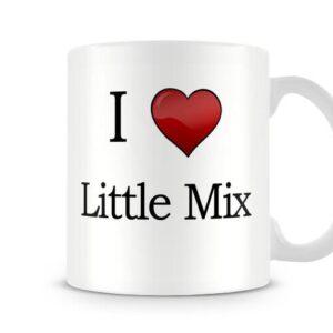 Christmas Stocking Filler I Love Little Mix Ideal Gift! – Printed Mug