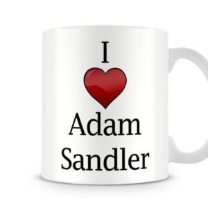 Christmas Stocking Filler I Love The Actor Adam Sandler Ideal Gift! – Printed Mug