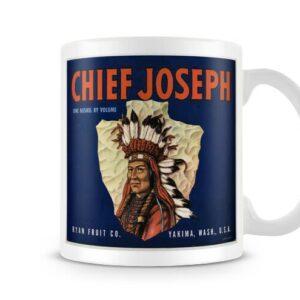 Chief Joseph Vintage Label – Printed Mug