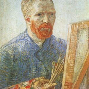Self Portrait Vincent Van Gogh VG001 Reproduction Art Print A4 A3 A2 A1