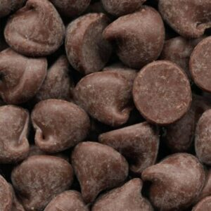 High Detailed Macro Image Of Chocolate Chips NAT173 Art Print A4 A3 A2 A1