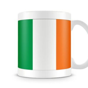 The Irish Flag Both Sides Or Wrapped Around – Printed Mug