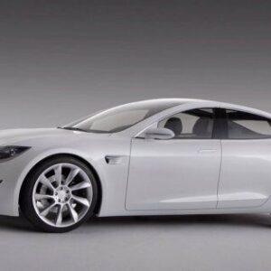 2012 Tesla Model S CARS4587 Art Print Poster A4 A3 A2 A1
