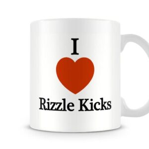 Decorative I Love Rizzle Kicks Ideal Gift – Printed Mug