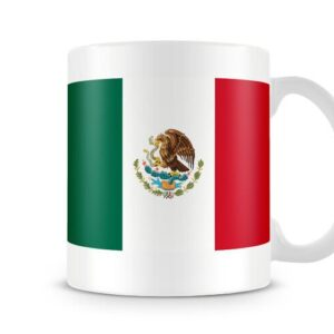 The Flag Of Mexico Both Sides Or Wrapped Around – Printed Mug