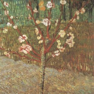 Almond Tree in Blossom Vincent Van Gogh VG451 Repro Art Print A4 A3 A2 A1