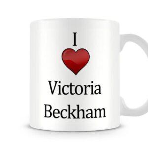Christmas Stocking Filler I Love Victoria Beckham Ideal Gift! – Printed Mug