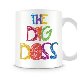 Christmas Stocking Filler Colourful The Big Boss – Printed Mug