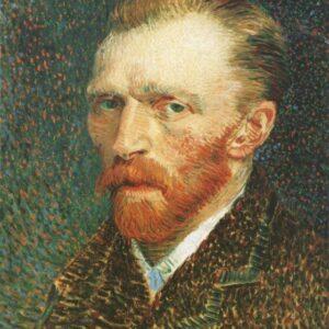 Self Portrait Vincent Van Gogh VG002 Reproduction Art Print A4 A3 A2 A1