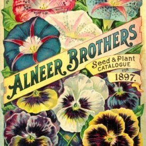 Alneer Brothers Vintage Seed Cover Picture SC004 Matt Satin Canvas A4 A3 A2 A1