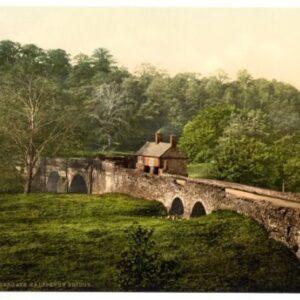 Ambergate, Halfpenny Bridge, Derbyshire – English Photochrome – EPC007 In Various Finishes & Sizes