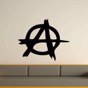 Anarchy Wall Art Sticker