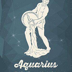 Aquarius Horoscope Metal Wall Plate