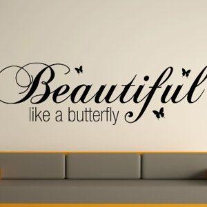 Beautiful butterfly Wall Art Sticker