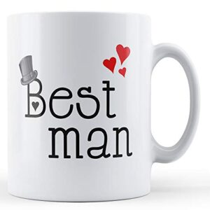 Best Man – Printed Mug