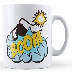 Boom Pop Art Mug – Printed Mug